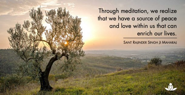 quote meditation peace