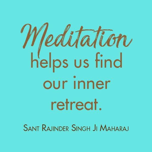 Quote Rajinder Singh on Meditation