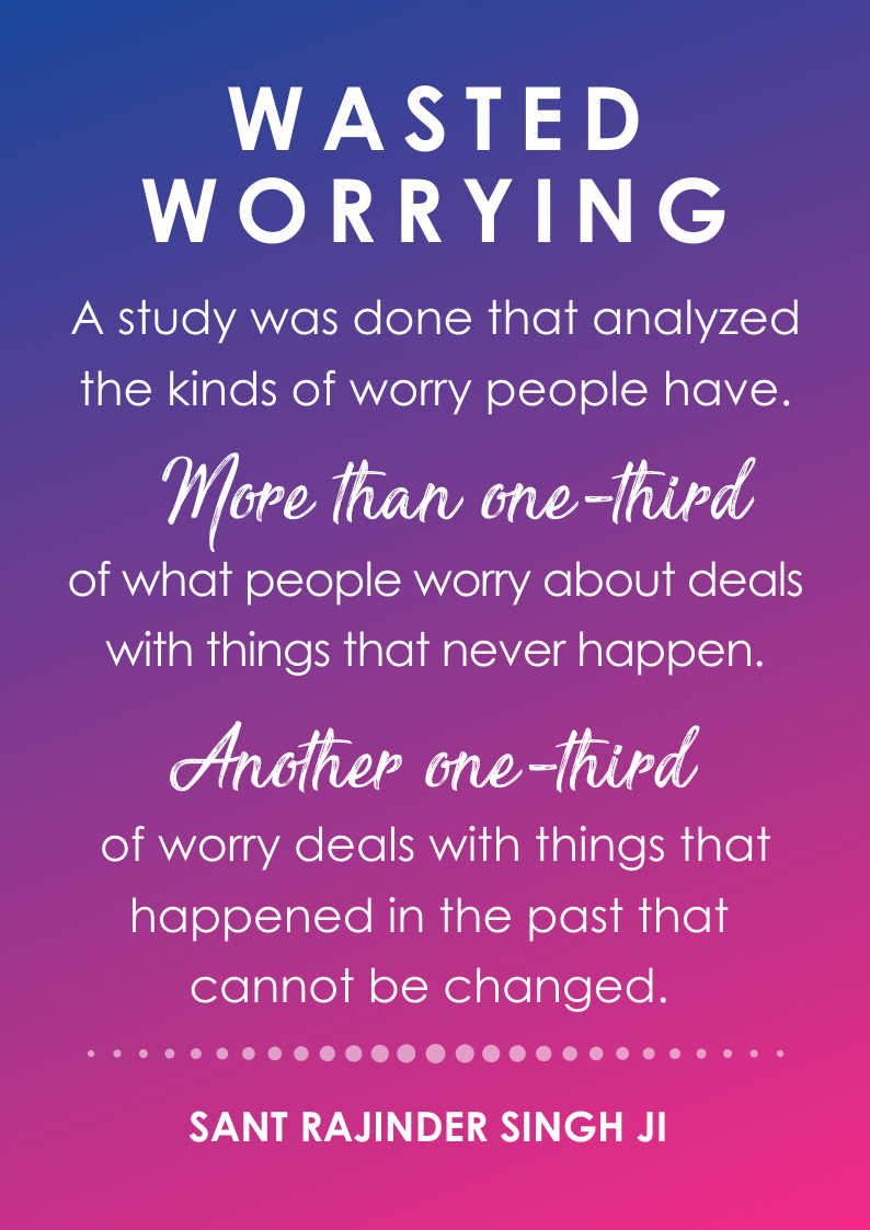 quote no worrying benefit to meditation