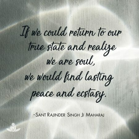 What is our true nature Sant Rajinder Singh