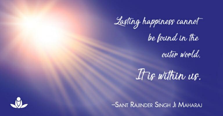 happiness meditation Rajinder Singh