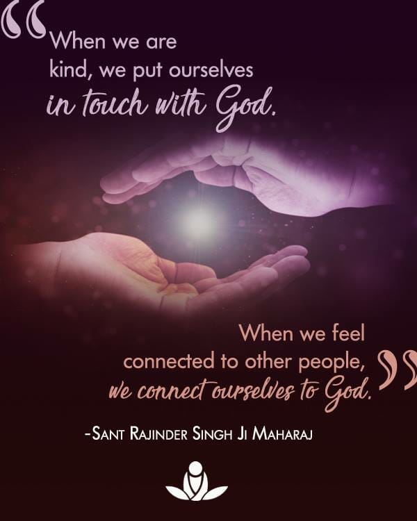 kindness and conenctedness