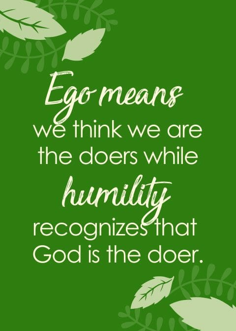 Ego and Humility Quote Rajinder Singh