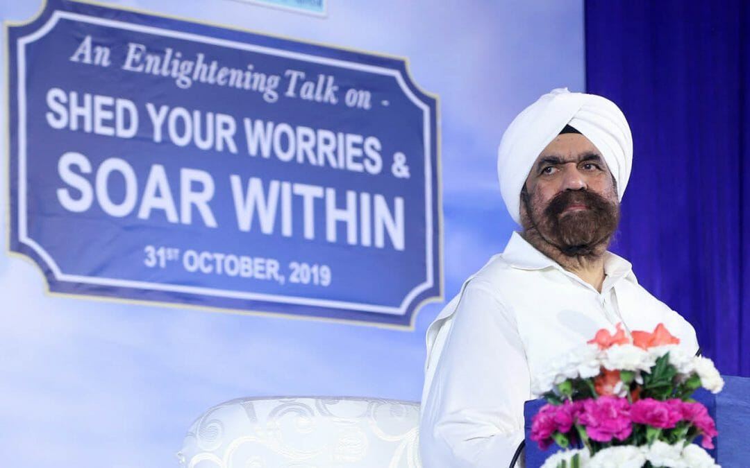 "A Discourse in Hyderabad: ""Shed Your Worries and Soar Within"""