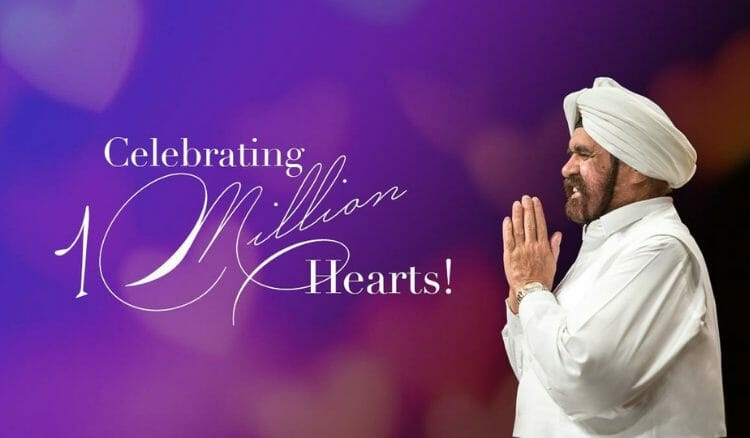 Sant Rajinder Singh Ji Maharaj's Official Facebook Page Reaches 1,000,000 Around the Globe!