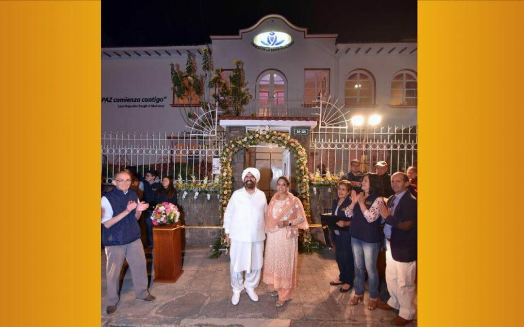 Sant Rajinder Singh Ji Maharaj Inaugurates the Science of Spirituality Center in Quito, Ecuador