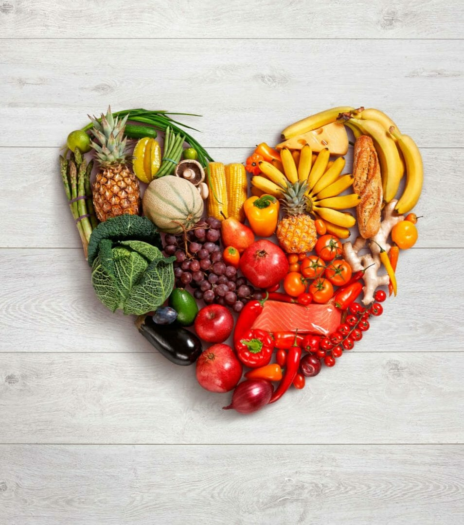 Vegetarian vegan diet heart