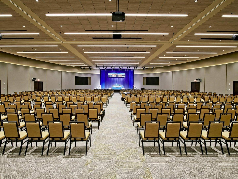 Main hall International Meditation Center | Meditation Center