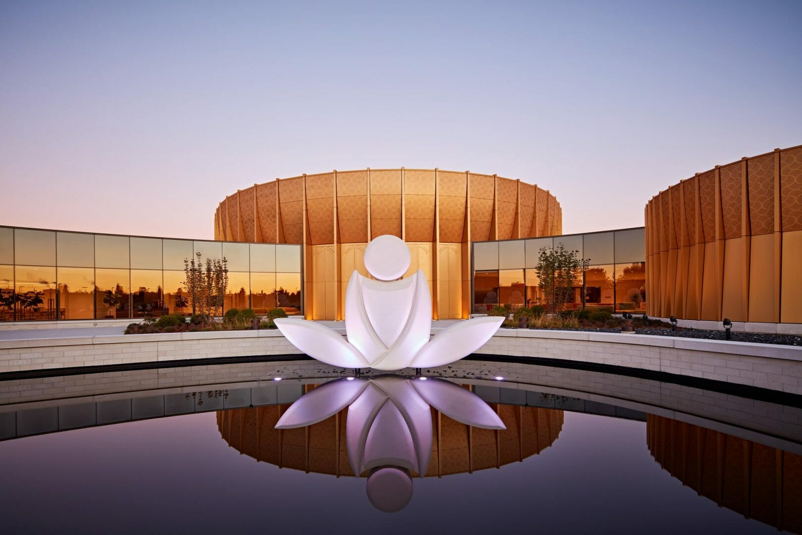 International Meditation Center | Outside view of the meditation center at Lisle