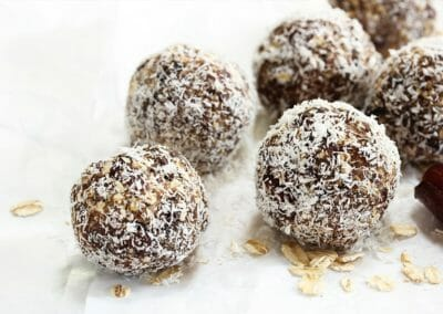 Coconut Covered Morsels